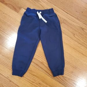 Hanna Andersson Blue Sweatpants with Drawstring
